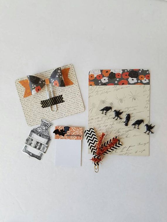 Check out this item in my Etsy shop https://www.etsy.com/listing/485767819/halloween-mini-planner-kit-planner