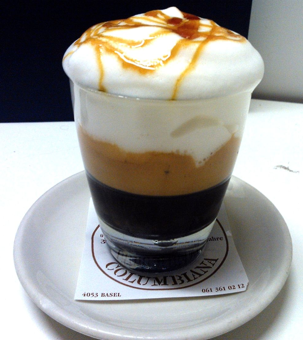 Lattino Freddo. Espresso Doppio With Cold Milk Foam And