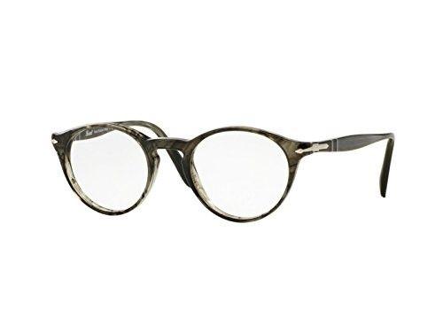 89d9dbebb3820 Persol Eyeglasses PO 3092V 1020 Striped Grey 48MM