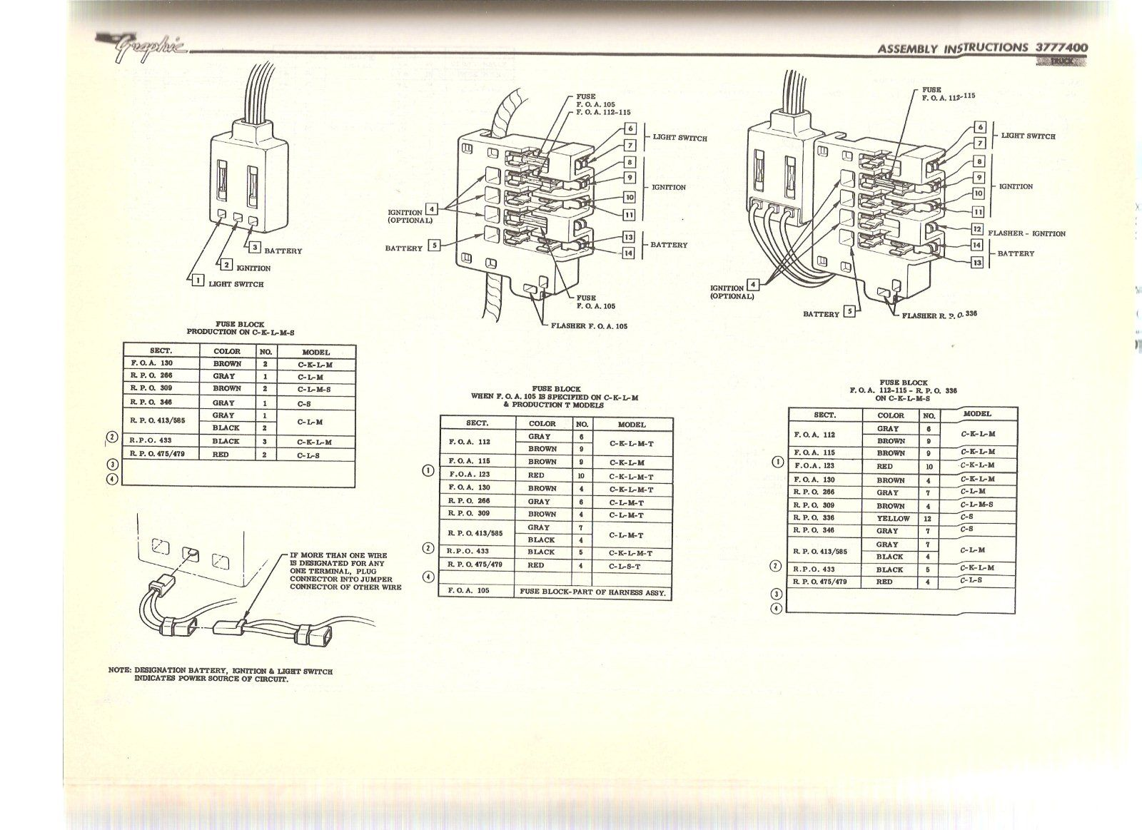 1986 Chevy Truck Ignition Switch Wiring Diagram 1997 Jeep Wrangler Pdf C10 Instrument Cluster 48