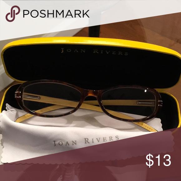 26d5e7bed8bbe Joan rivers prescription eye glasses Good condition joan rivers Accessories  Glasses