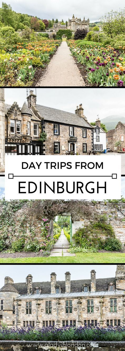 11 Day Trips from Edinburgh - Where to Go for a Great Day Out #travelscotland