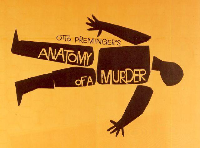 Anatomia de un asesinato. Cartel de la pelicula | Posters ...