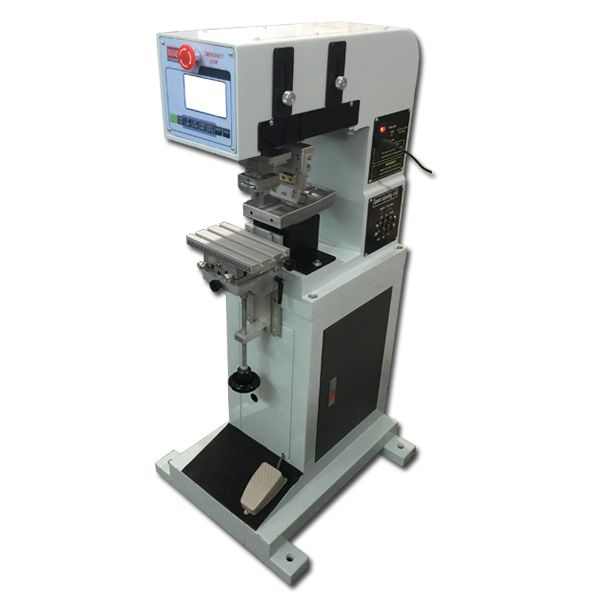 pneumatic single color logo pad printing machine   Price $US - free shipping label maker