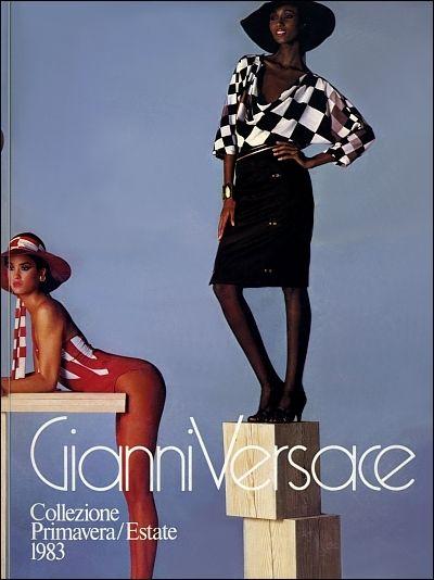 d182ed0d61 GIANNI VERSACE | Catalogo # 4 Collezione Donna Primavera/Estate 1983  (Fronte)