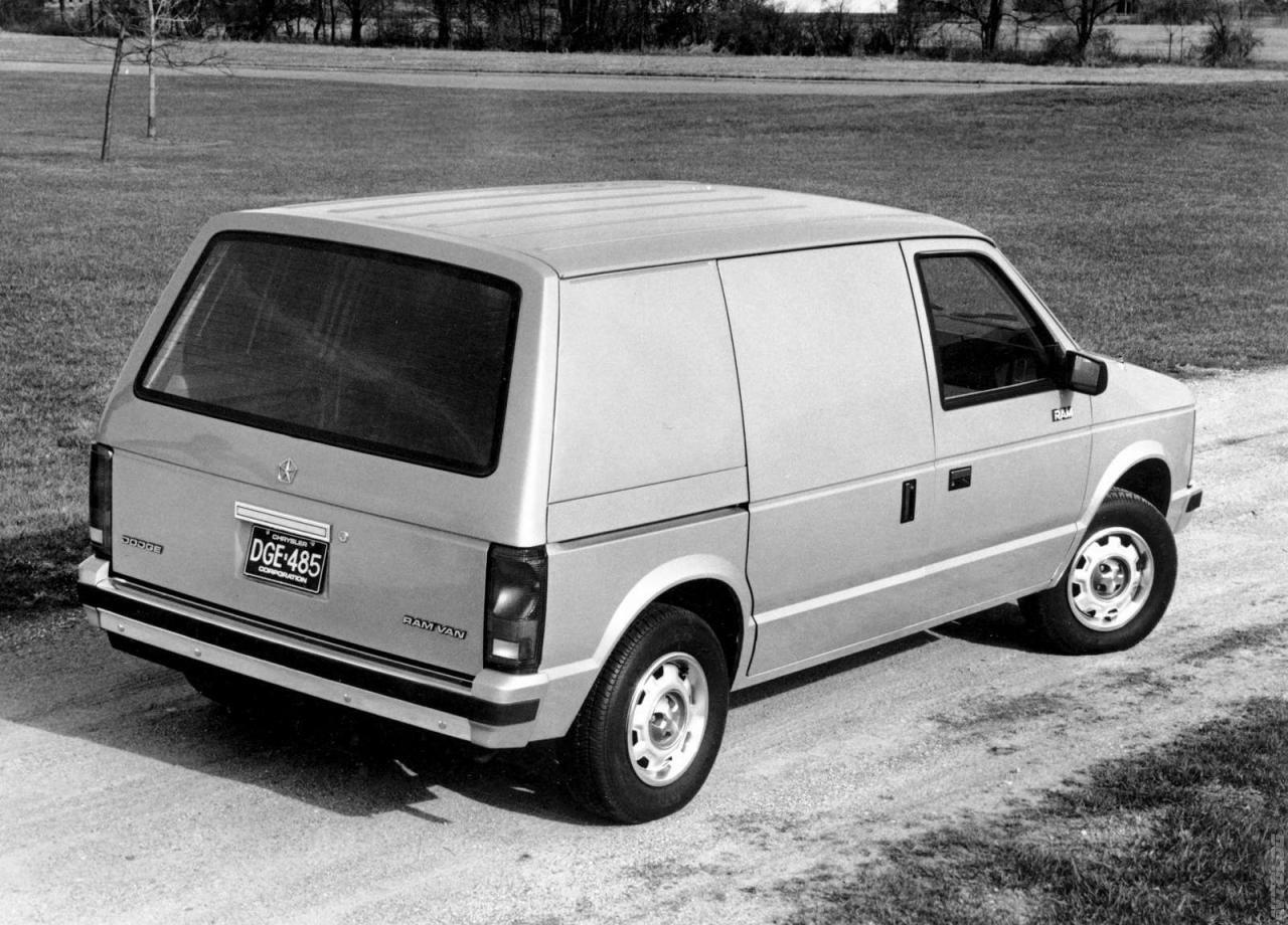 1985 Dodge Ram Van Ram Van Dodge Ram Van Dodge