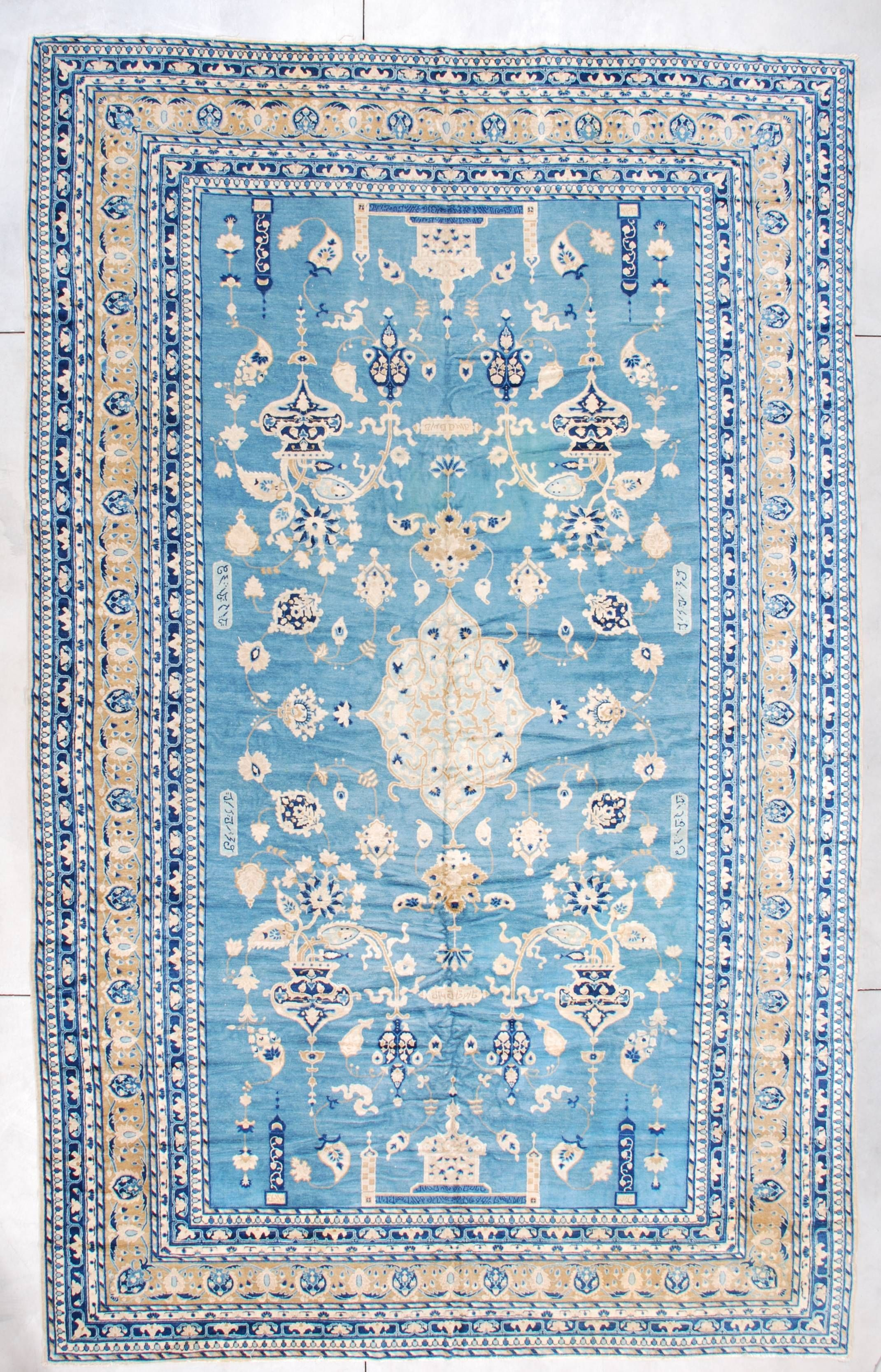 Polonaise antique oriental rugs - Blue Antique Persian Rug This Rug Is In Mint Condition