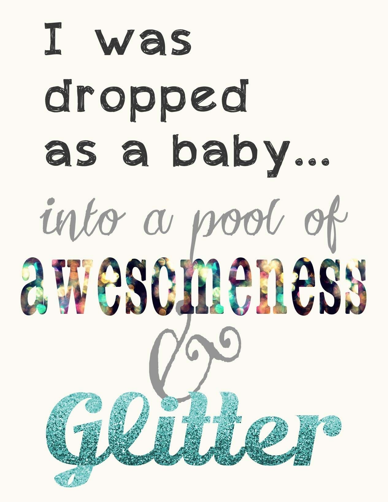 Learning how to use glitter in (With images