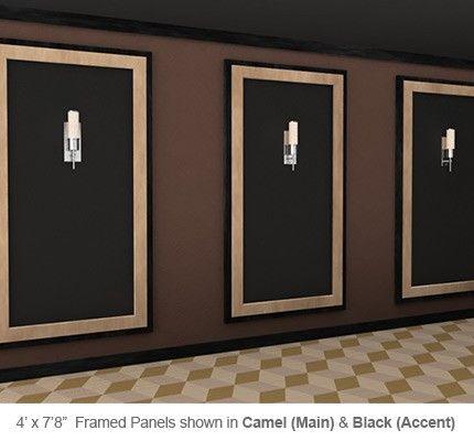 Soundright Framed Wallpanel Home Theater Decor Home Cinema Room Home Theater Design