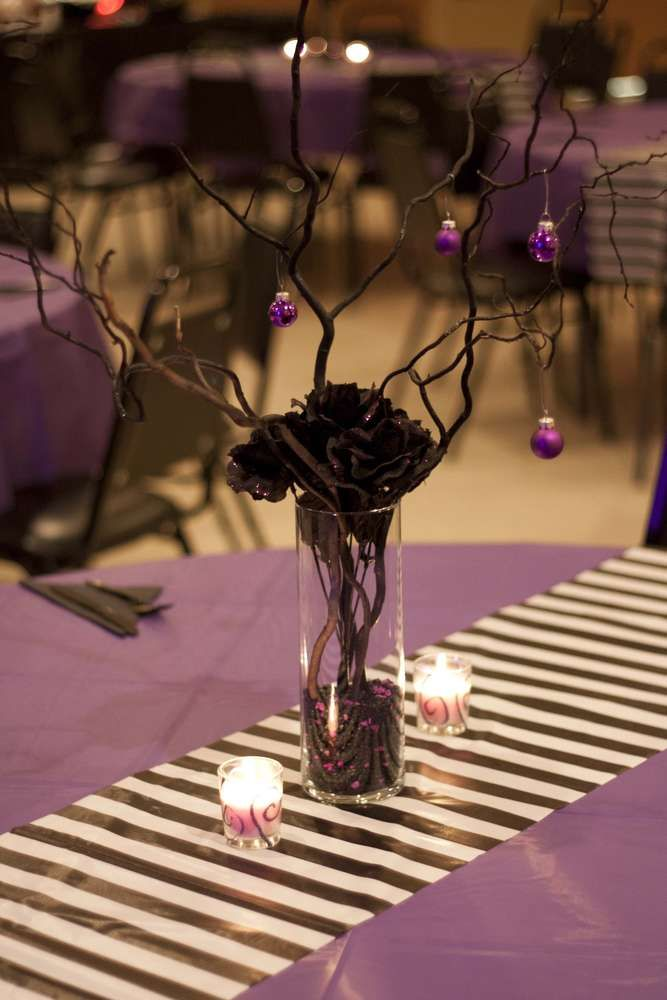 nightmare before christmas birthday party ideas photo 18 of 25 catch my party - Nightmare Before Christmas Wedding Decorations