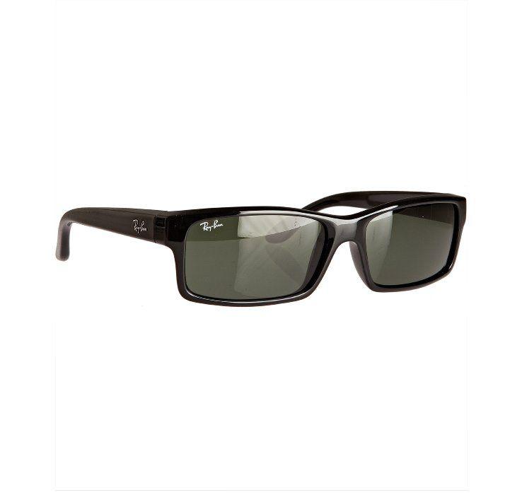 Image detail for -Ray-Ban black plastic rectangular frames | Men\'s ...