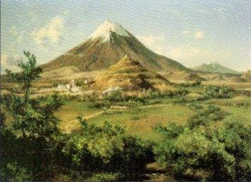 A propósito del aniversario del nacimiento de José María Velasco, viendo sus obras me encontre con este padrisimo paisaje. Lindos !!