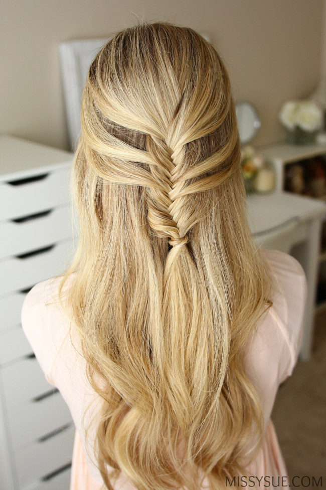 Fishtail Hairstyle Fascinating Half Updos Are A Great Way To Fancy Up Your Look Without Seeming Too