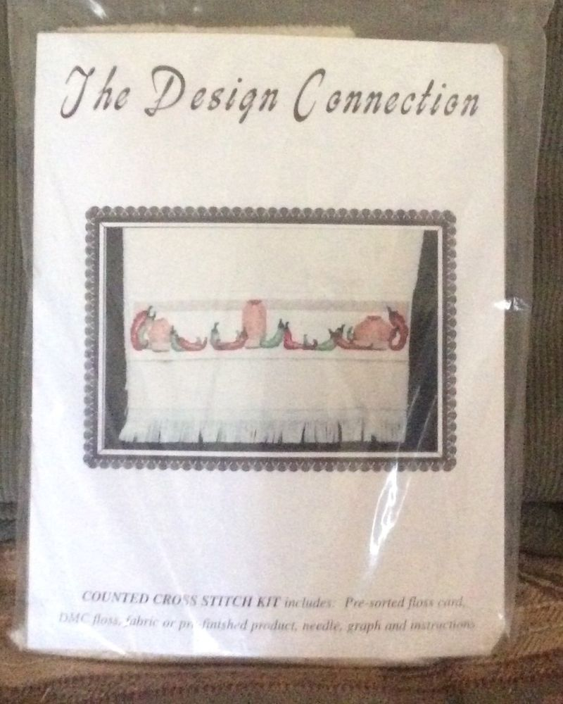 The Design Connection Counted Cross Stitch Kit Southwest Chili