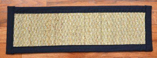 Dean Non-Slip Seagrass Beige Natural Fiber Carpet Stair T... https://www.amazon.com/dp/B0051W8DRY/ref=cm_sw_r_pi_dp_VKqLxbG72PP0B