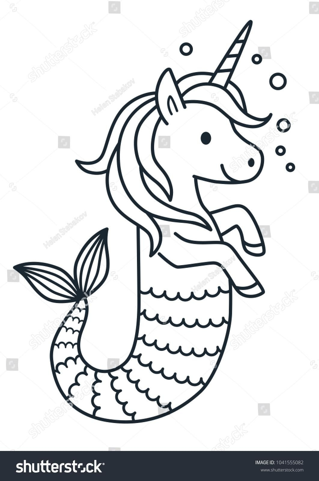 Awesome Coloring Page Unicorn Mermaid That You Must Know You Re
