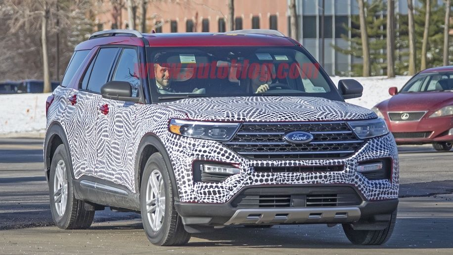 Ford To Debut All New 2020 Explorer Next Month In Detroit 2020