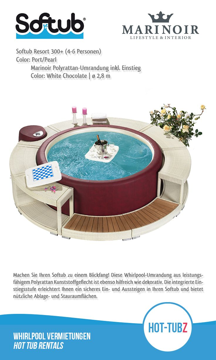 Tubs · #HotTubz   We Bring #relaxation To You! Presentiert: #Softub # Umrandung
