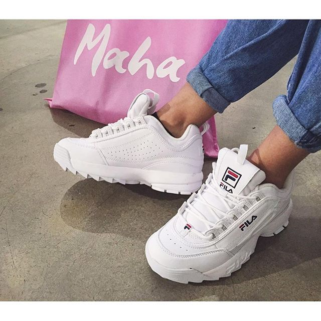 separation shoes e45ee 109f3 Fila Disruptor - @debchv | Me and my Kicks | Sneakers mode ...