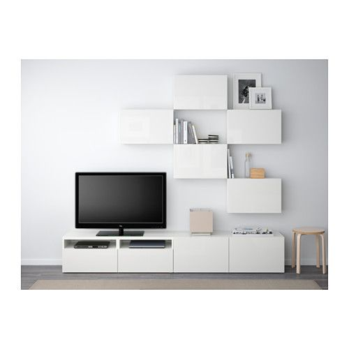 Best mueble tv combinaci n riel p caj n apetura presi n - Ikea mueble salon tv ...
