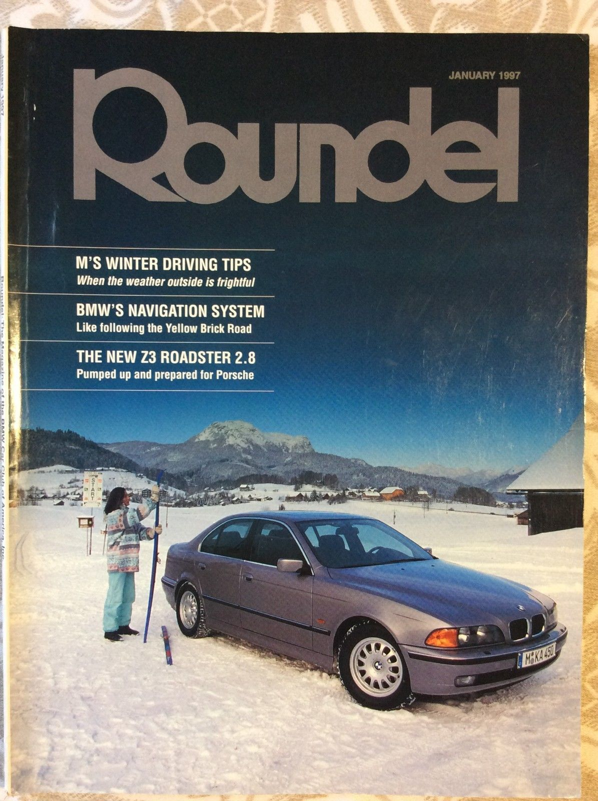 Lot Of 28 Bmw Roundel Magazines Back Issues Bmw Car Club Of America Ebay Car Club Bmw Winter Driving Tips