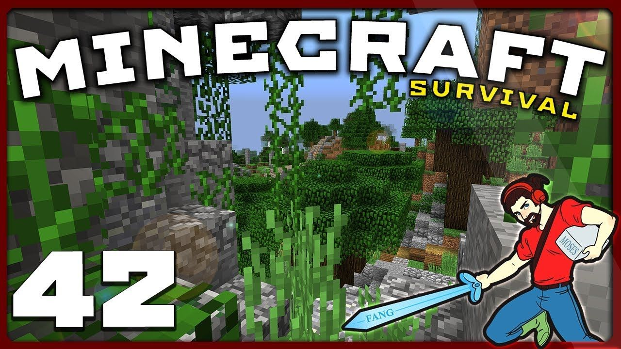 Minecraft Survival EPIC CAVE CRAFTING! [S01E42