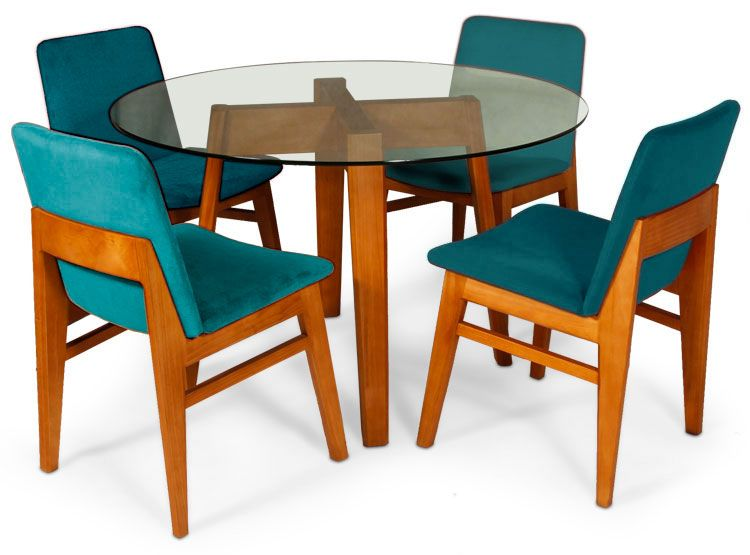 Ripley juego de comedor nto escandinavo 4 sillas for Sillas de comedor modernas argentina