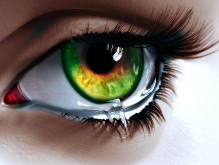 tears 1 eye drawings and artsy
