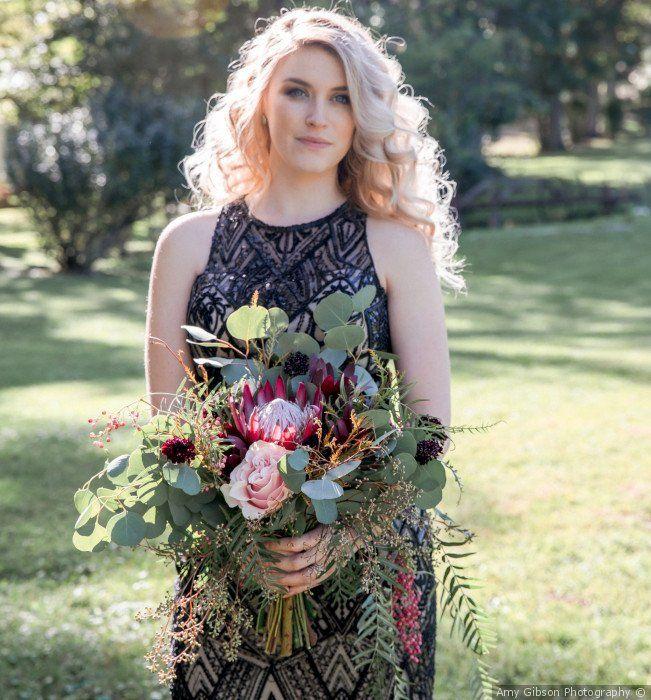Glam Non Traditional Wedding Dress Idea Colored Wedding Dresses