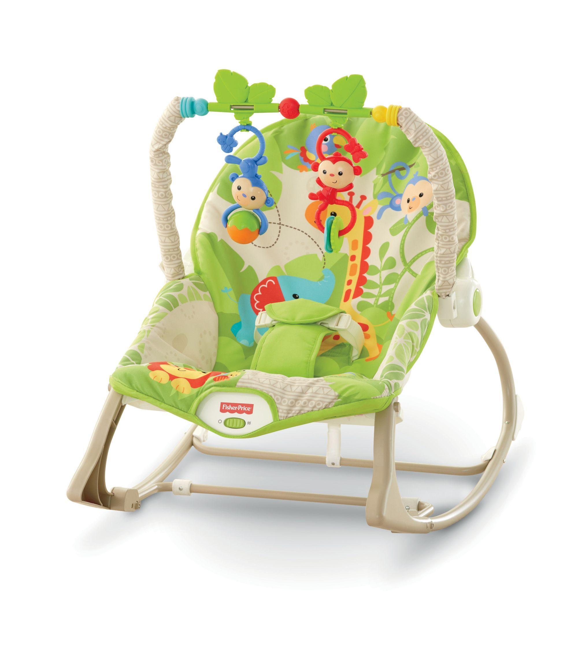 Fisher Price Rainforest Infant to Toddler Rocker
