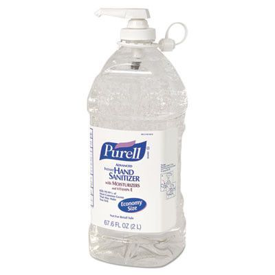 Sanitizer Purell2liter Cr Products Hand Sanitizer Bottle