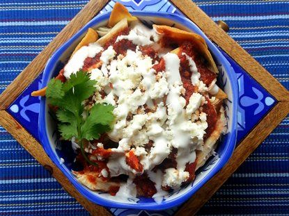 Chilaquiles rojos recipe mexicans food and recipes chilaquiles rojos mexican breakfast recipeslos forumfinder Gallery