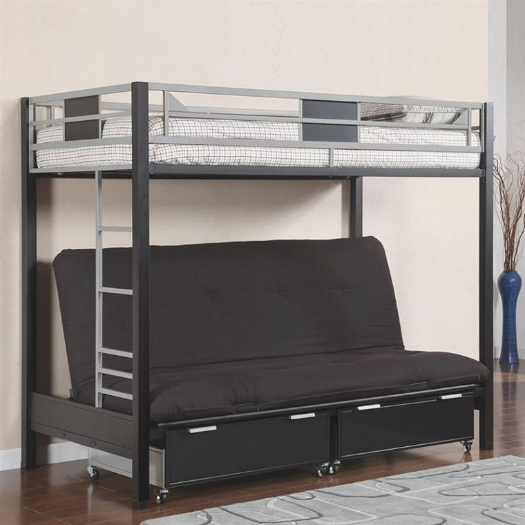 Futon Bed With Mattress Included Couch Bunk Beds Black Bunk Beds Bunk Beds
