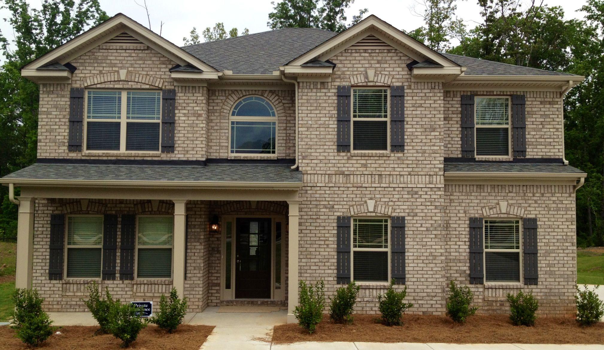 Cottonwood brick light buff mortar exterior pinterest for Cottonwood house