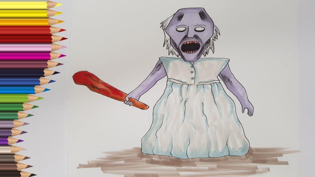 Desene De Colorat Horror