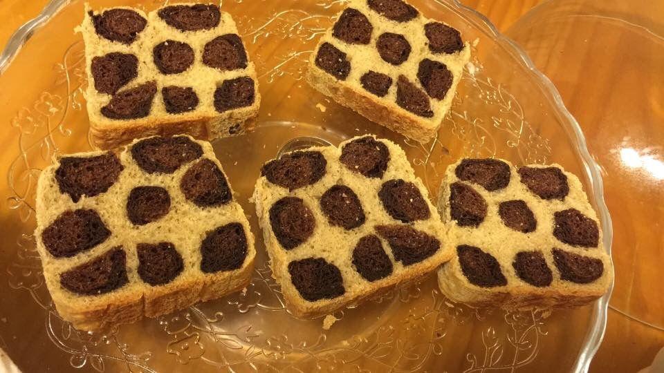 レオパード食パン
