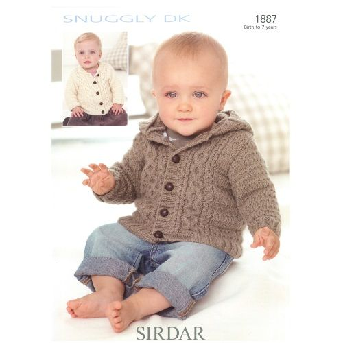 1887 Jacket 8 Ply by Sirdar | Knit - Baby by Mong | Pinterest