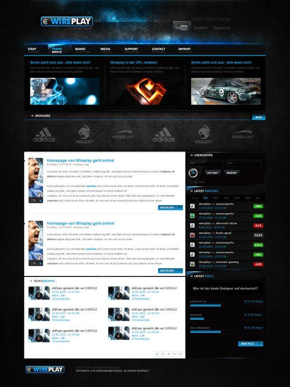 45 Insane Game Website Designs for Your Inspiration | Web Design ...