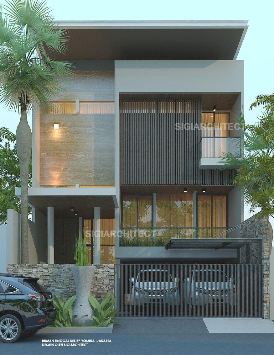 Rumah Mewah 2 Lantai & Kolam Renang Privat, Modern ...