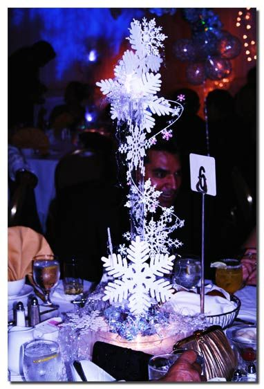 Winter wonderland wedding centerpieces ideas com for Winter dance decorations