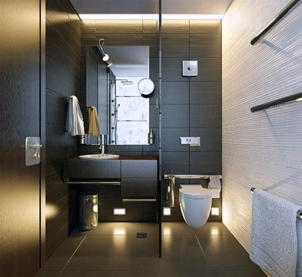Afbeeldingsresultaat voor moderne kleine badkamer zonder bad ...