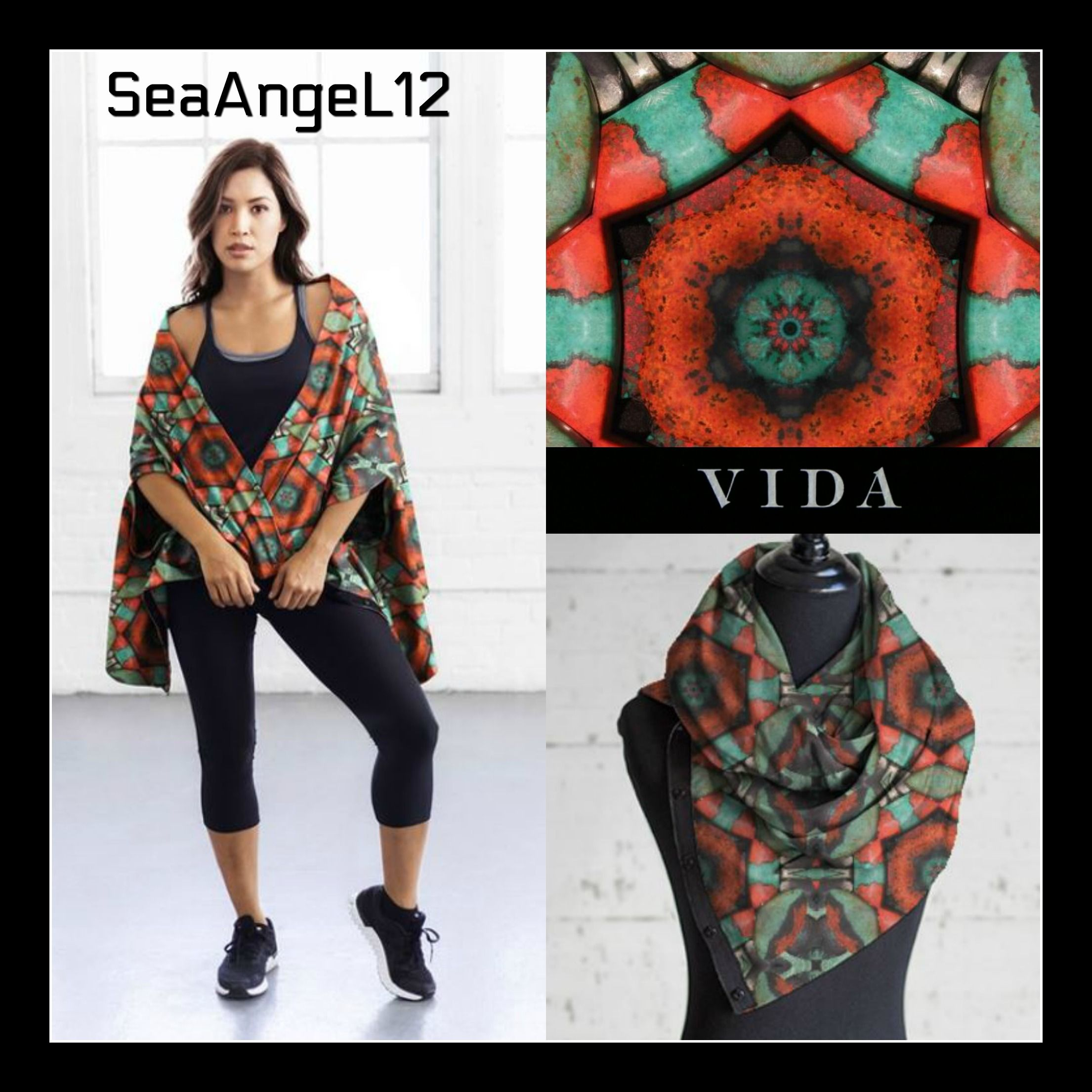 Modal Scarf - Bless the sailor M by VIDA VIDA 0pd5w1