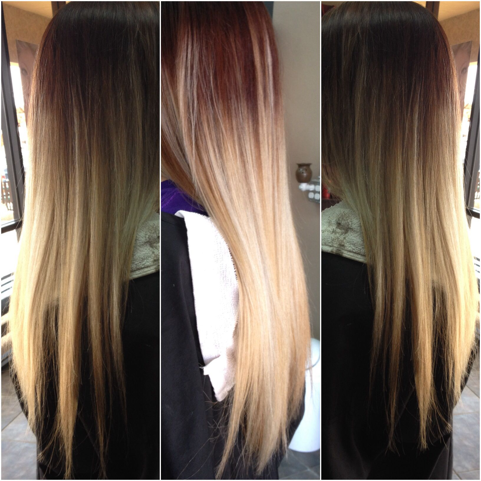 Ombré for graduation as a hairdresser I am so happy to cross these milestones with my clients
