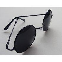 a76f7ae5b2bb5 Óculos De Sol Redondo Hipster Ozzi Preto   Trabalho banfi