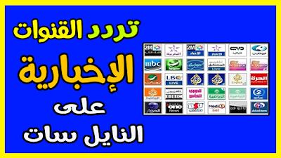 احدث ترددات القنوات الإخبارية كاملة News Channels على النايل سات احدث ترددات القنوات الإخبارية كاملة News Channels على النايل سات ترددات الق News Channels Uba