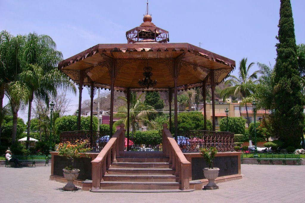 el kiosco el kiosco de la plaza de chapala kioskos de
