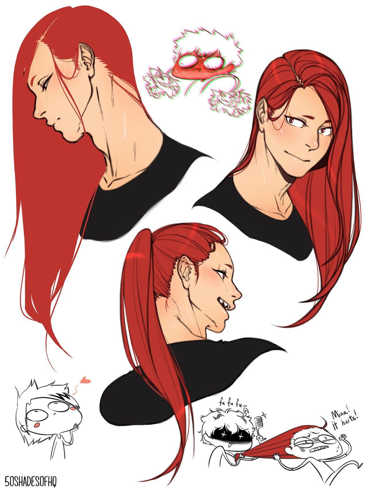Eijirou Kirishima How To Draw Hair Hero Anime Guys