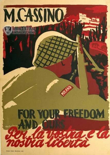 """Poland WW2 """"For your freedom and ours"""""""