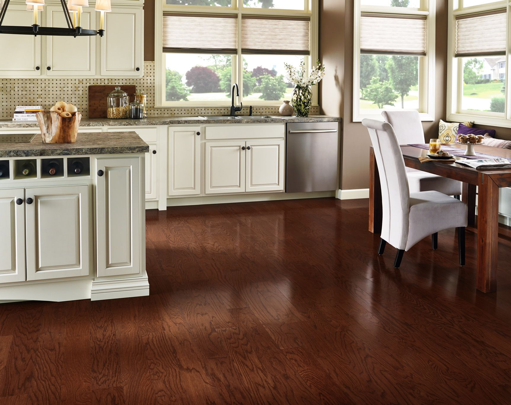 Prime harvest oak hardwood sunset west from armstrong stunning