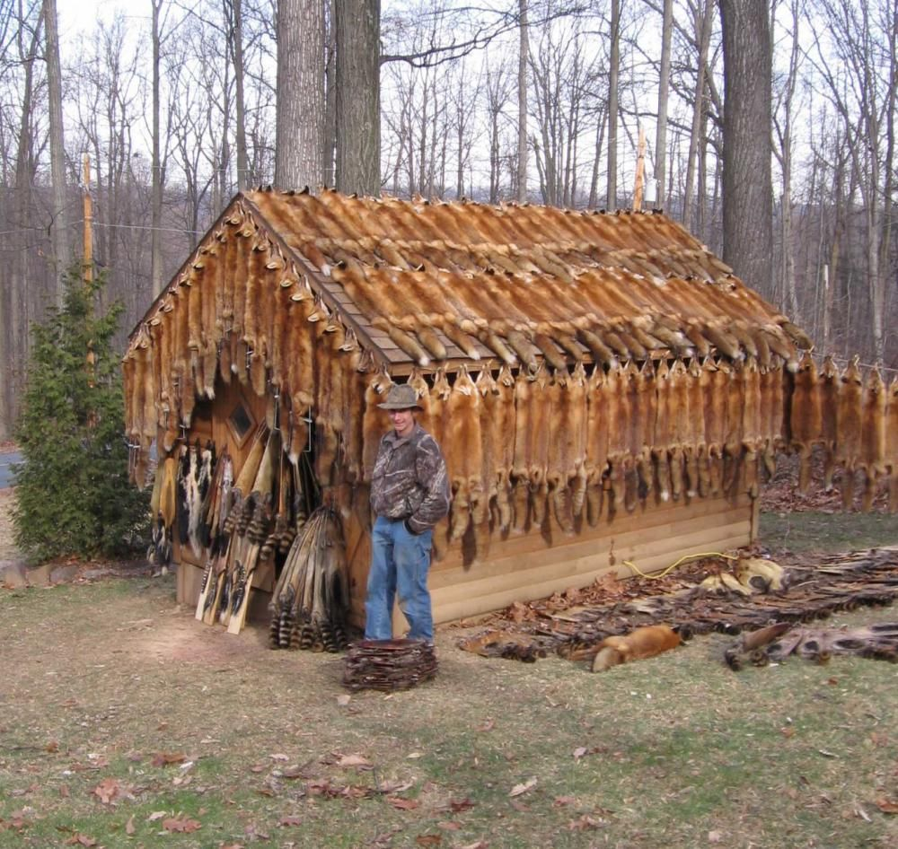 Need a Fur Shed? Tiny CabinsLog CabinsCabin Floor PlansHunting ...